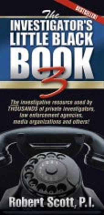 Investigator's Little Black Book III (RARE COPY)